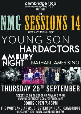 Cambridge 105 NMG Sessions 14 @ The Portland Arms | Cambridge | United Kingdom