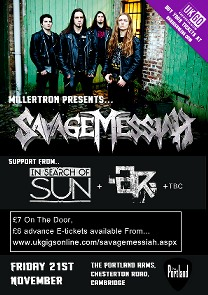 MILLERTRON PRESENTS: Savage Messiah @ The Portland Arms | Cambridge | United Kingdom